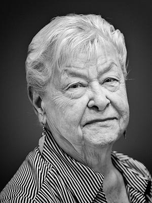 Mrs. Audrey S., a portrait by Dr. Howard Grill