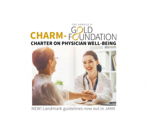CHARM-Gold Foundation Charter on Physician Well-Being