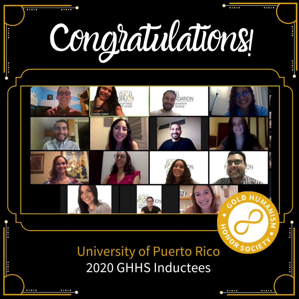 University of Puerto Rico GHHS induction ceremony