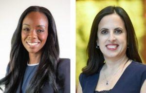 Headshots of Dr. Rana Awdish and Dr. Nadine Harris